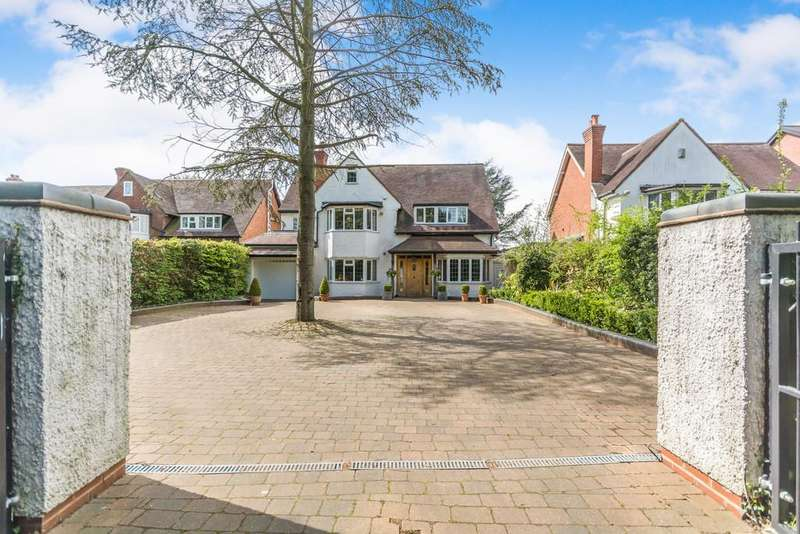 4 Bedrooms Detached House for sale in St Bernards Road, Solihull