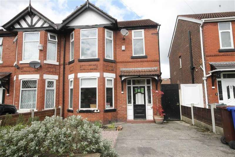 3 Bedrooms Semi Detached House for sale in Kingsway Avenue, Manchester