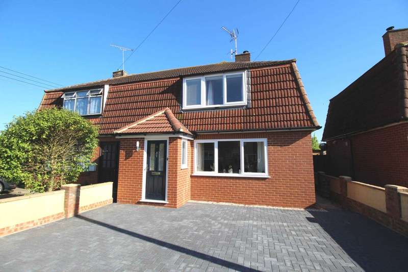 3 Bedrooms Semi Detached House for sale in D`Arcy Avenue, Maldon