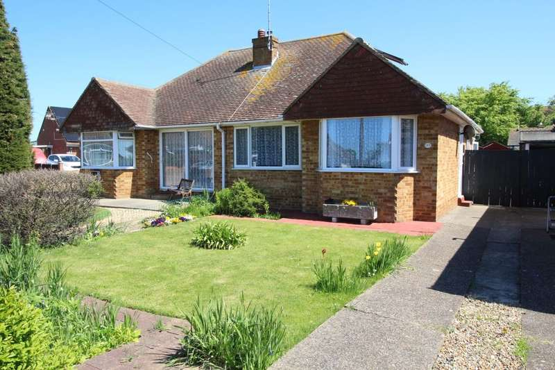 2 Bedrooms Semi Detached Bungalow for sale in Vine Close, Ramsgate, CT11