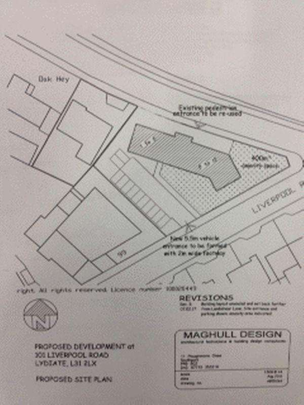 Residential Development Commercial for sale in Liverpool Road, Lydiate, Liverpool