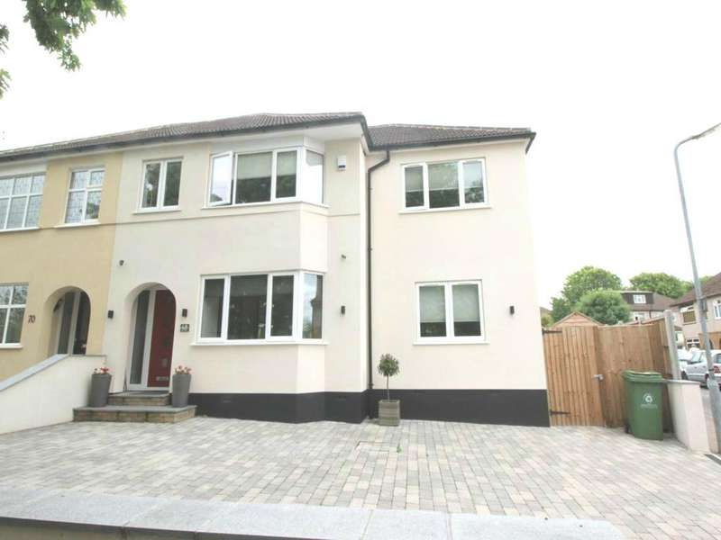 4 Bedrooms Semi Detached House for rent in Perry Street, Billericay, Essex, CM12