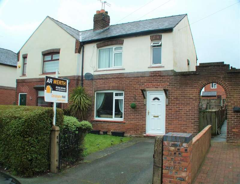 3 Bedrooms Semi Detached House for sale in The Highway, Hawarden, Deeside