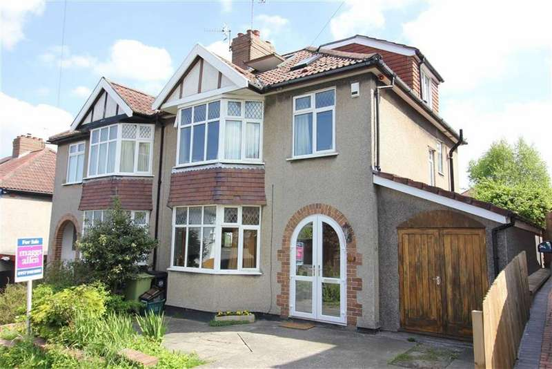 4 Bedrooms Semi Detached House for sale in The Crescent, Henleaze, Bristol
