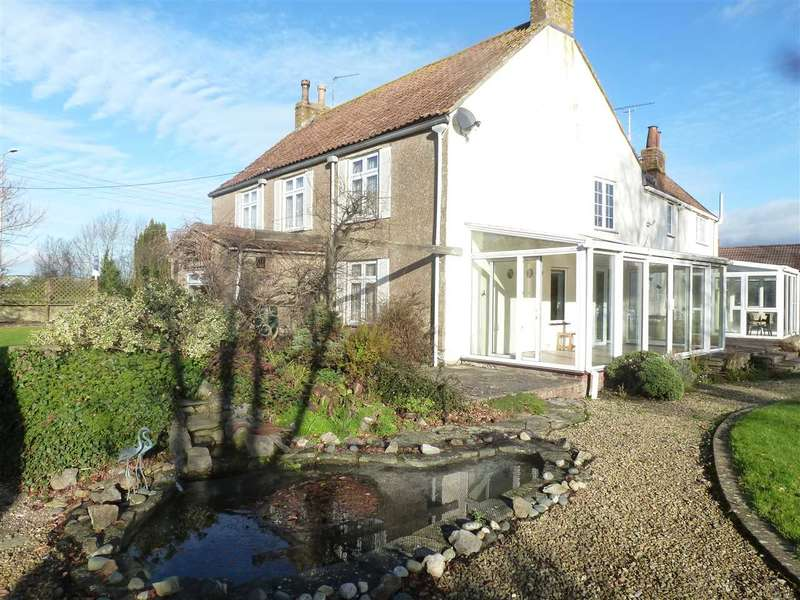 6 Bedrooms Detached House for sale in Yeo Barton And Yeo Barton Cottage, Hewish, Weston-Super-Mare