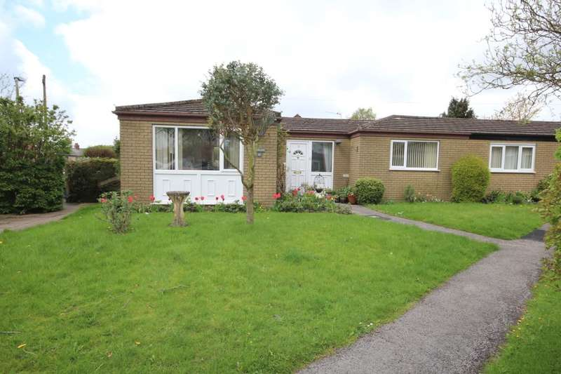 2 Bedrooms Semi Detached Bungalow for sale in Wyreside Close, Garstang, Preston, PR3