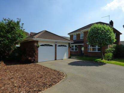 4 Bedrooms Detached House for sale in The Greenway, Elvaston, Derby