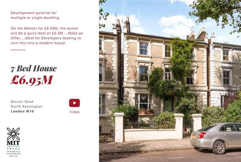 7 Bedrooms House for sale in Bassett Road, London