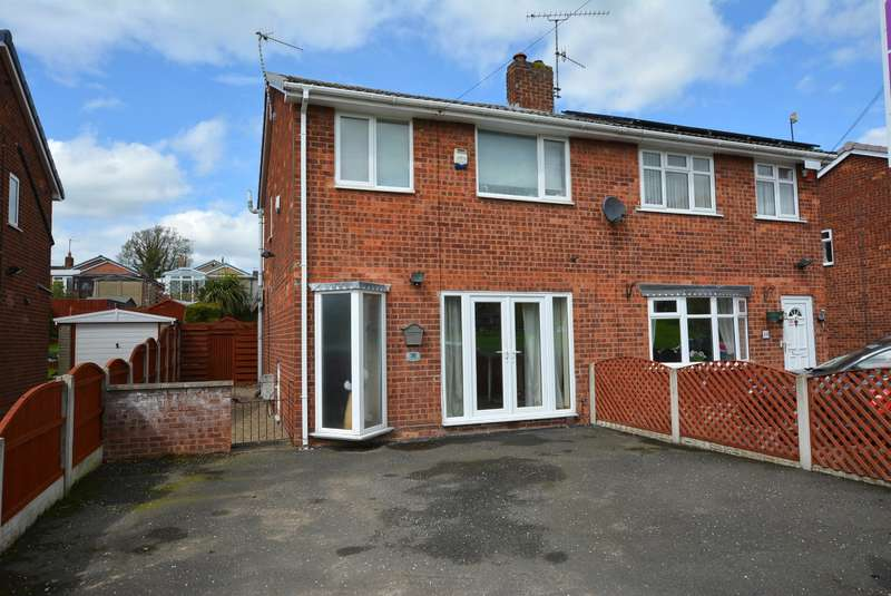 3 Bedrooms Semi Detached House for sale in Cartmel Crescent, Newbold, Chesterfield, S41 8JQ
