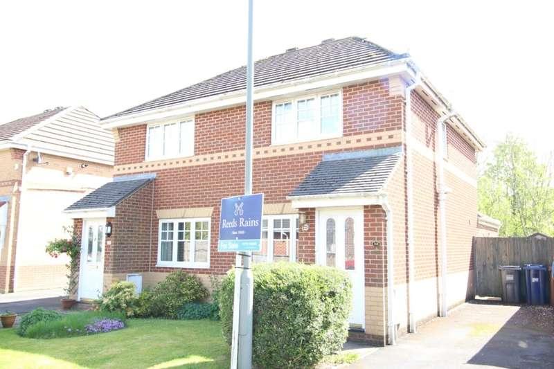 2 Bedrooms Semi Detached House for sale in Cloughfield, Penwortham, Preston, PR1