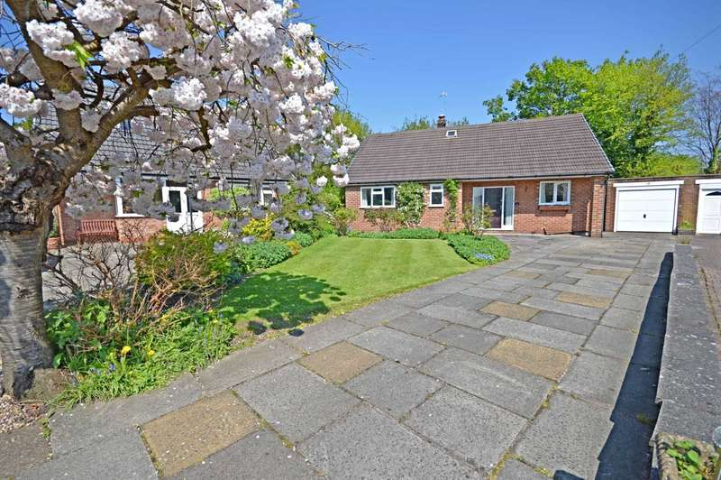 3 Bedrooms Detached Bungalow for sale in Windsor Grove, Cheadle Hulme