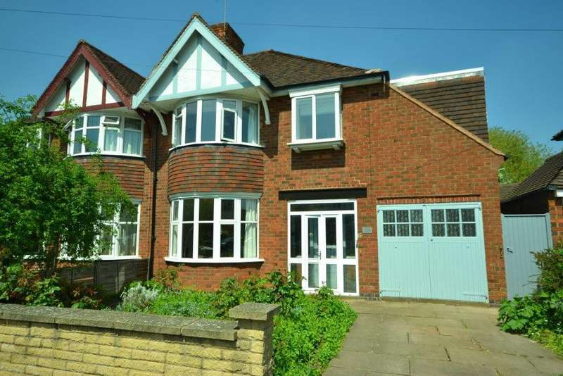 3 Bedrooms Semi Detached House for sale in Nortcote Road, Leicester
