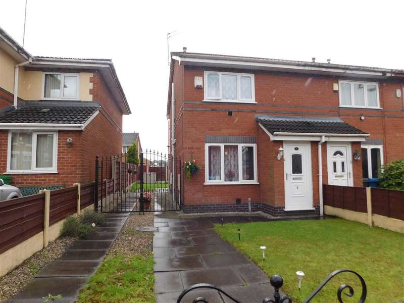 2 Bedrooms Semi Detached House for sale in Zeta Street, Manchester