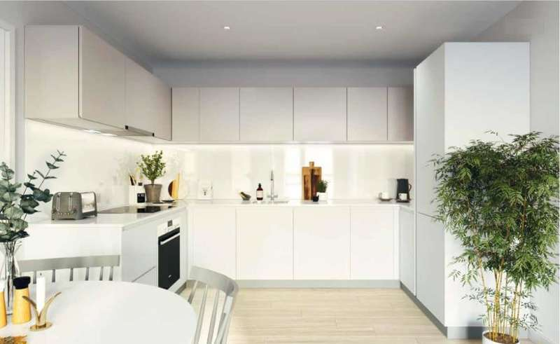3 Bedrooms Apartment Flat for sale in Collins Building, Fellows Square, Crinklewood NW2