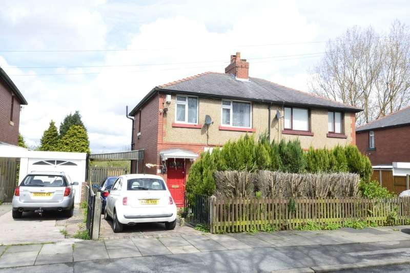 3 Bedrooms Semi Detached House for sale in Parkfield Avenue, Farnworth, Bolton, BL4