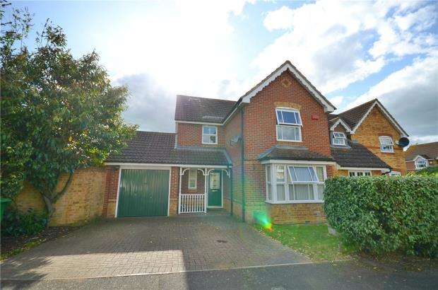 4 Bedrooms Detached House for sale in Lilley Way, Slough