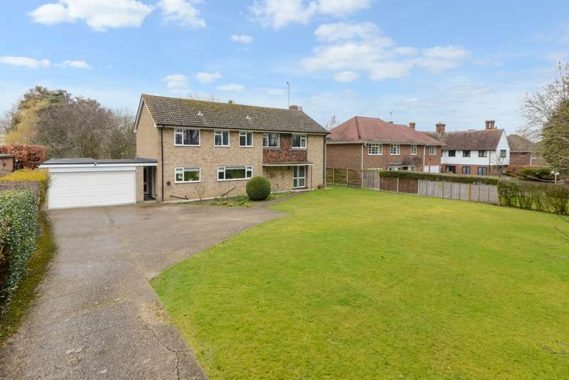 4 Bedrooms Detached House for sale in Nackington Road, Canterbury, CT4