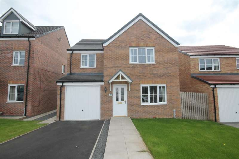 4 Bedrooms Detached House for sale in Hazelbank, Coundon Gate, Bishop Auckland
