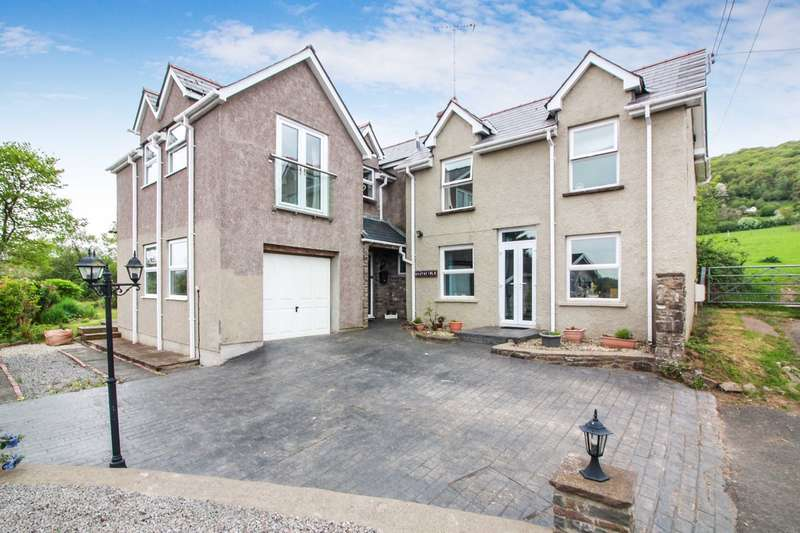 4 Bedrooms Detached House for sale in Poplars Road, Mardy, Abergavenny, NP7