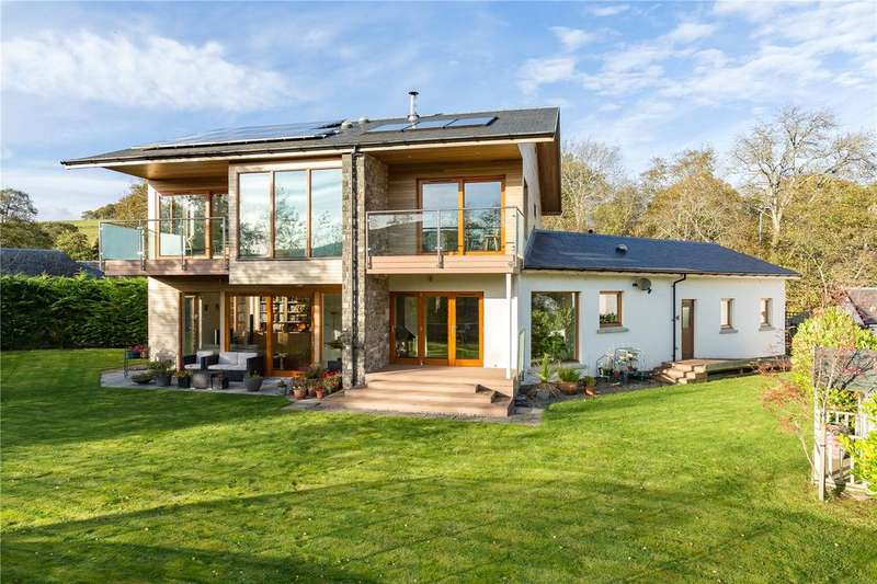 4 Bedrooms Detached House for sale in Red Rocks, Millbank Road, Clovenfords, Galashiels, Selkirkshire