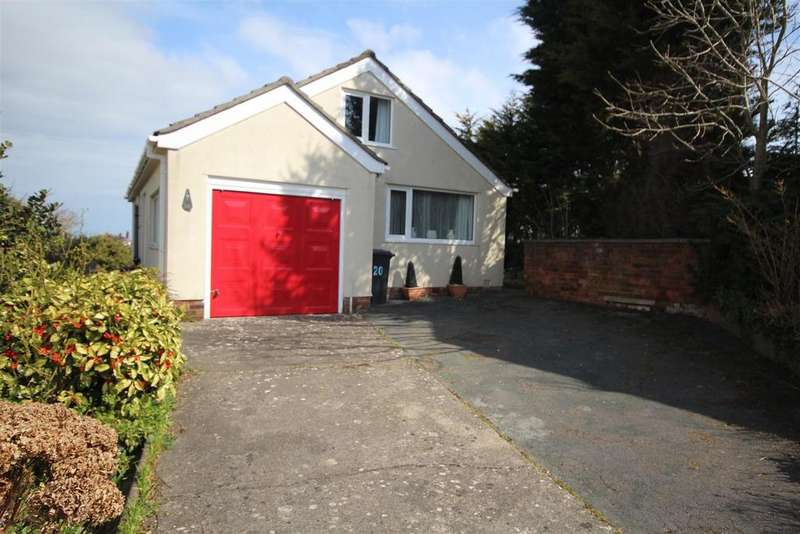2 Bedrooms Detached Bungalow for sale in Cowlyd Close, Rhos-on-Sea