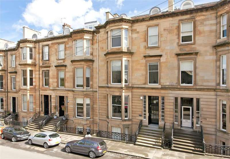3 Bedrooms Apartment Flat for sale in Flat 3/1, Lynedoch Place, Park, Glasgow