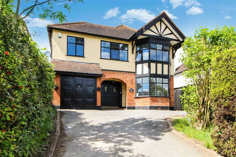4 Bedrooms Detached House for sale in Chelmsford Road, Shenfield