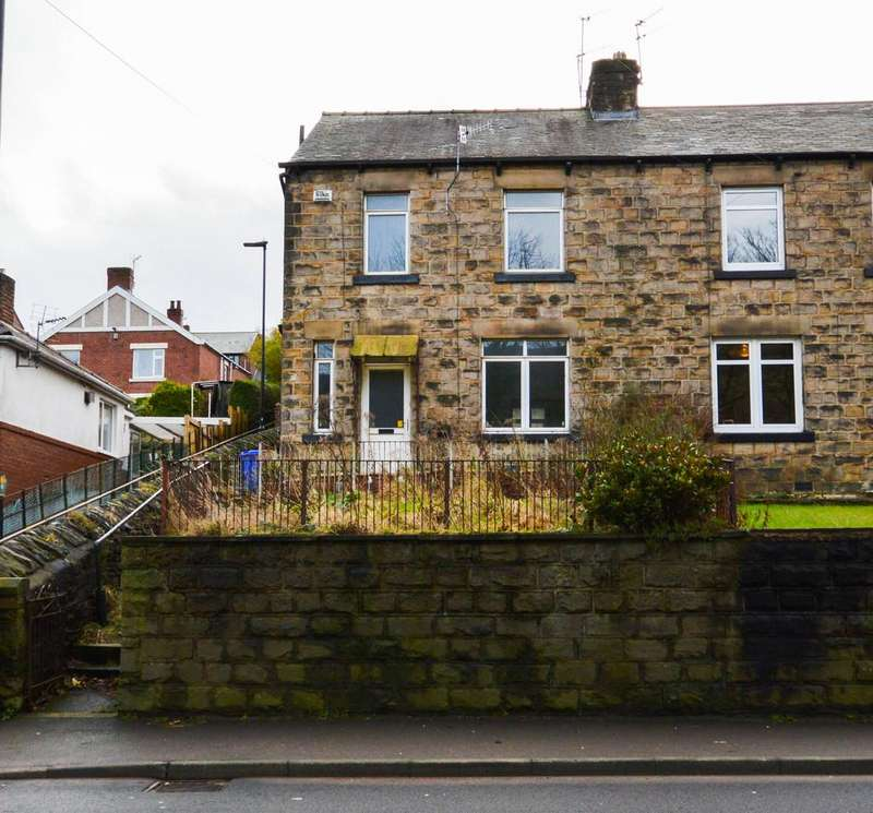 3 Bedrooms Semi Detached House for sale in Manchester Road, Deepcar, Sheffield, S36