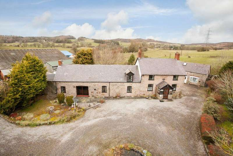 6 Bedrooms Detached House for sale in Chester Road, Llandegla
