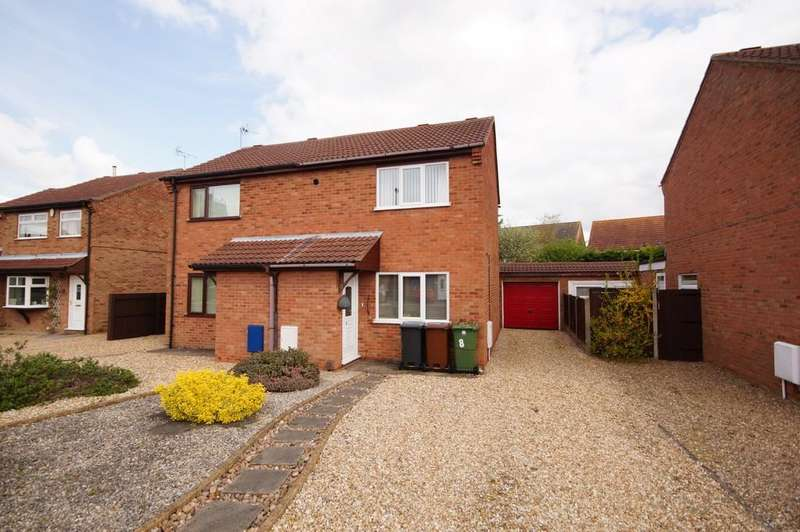 2 Bedrooms Semi Detached House for sale in Falklands Close, Lincoln