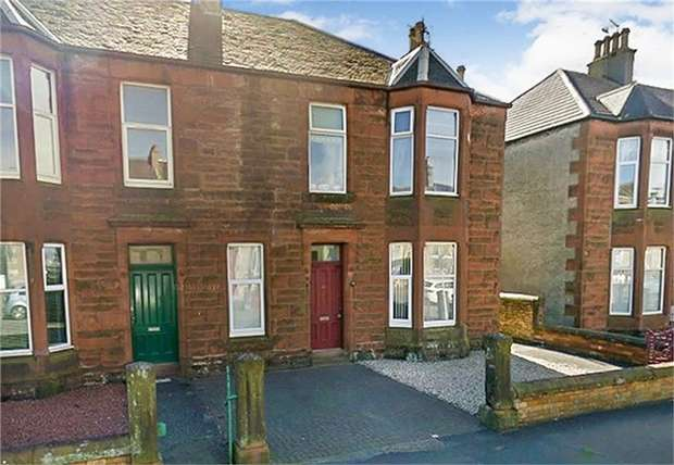 2 Bedrooms Flat for sale in 48 Argyle Road, Saltcoats, North Ayrshire