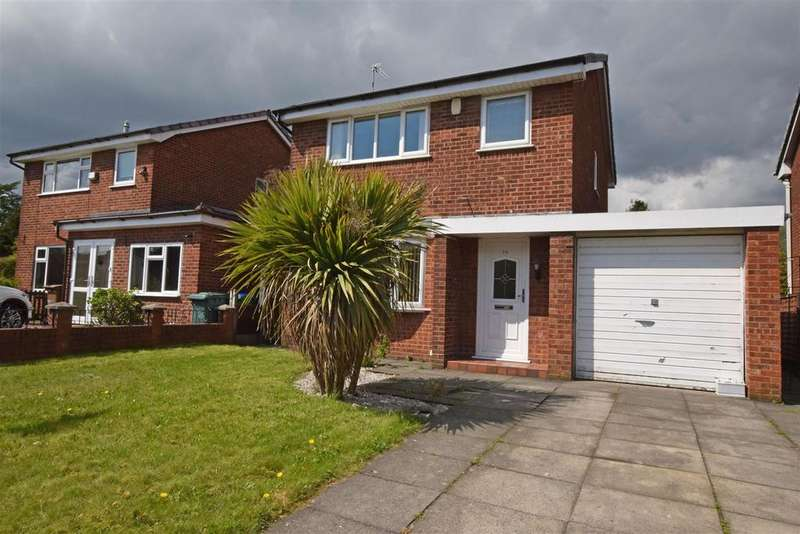3 Bedrooms Detached House for sale in Shaftesbury Drive, Hopwood, Heywood