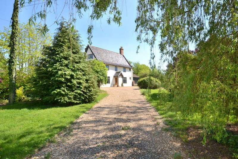 4 Bedrooms Detached House for sale in Hoxne Road, Weybread, Suffolk