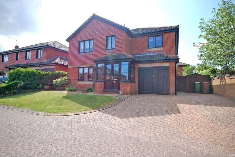 4 Bedrooms Detached House for sale in Cowslip Lane, Sheringham