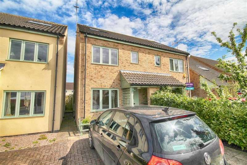 3 Bedrooms Semi Detached House for sale in Bell View Close, Off Hewlett Road, Cheltenham, GL52
