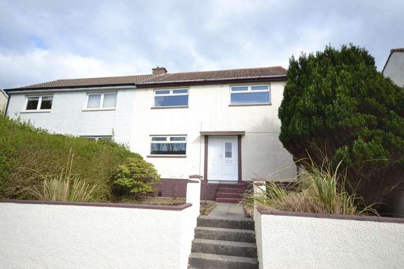 3 Bedrooms Semi Detached House for sale in 63 Dunlop Terrace, Ayr, KA8 0SW