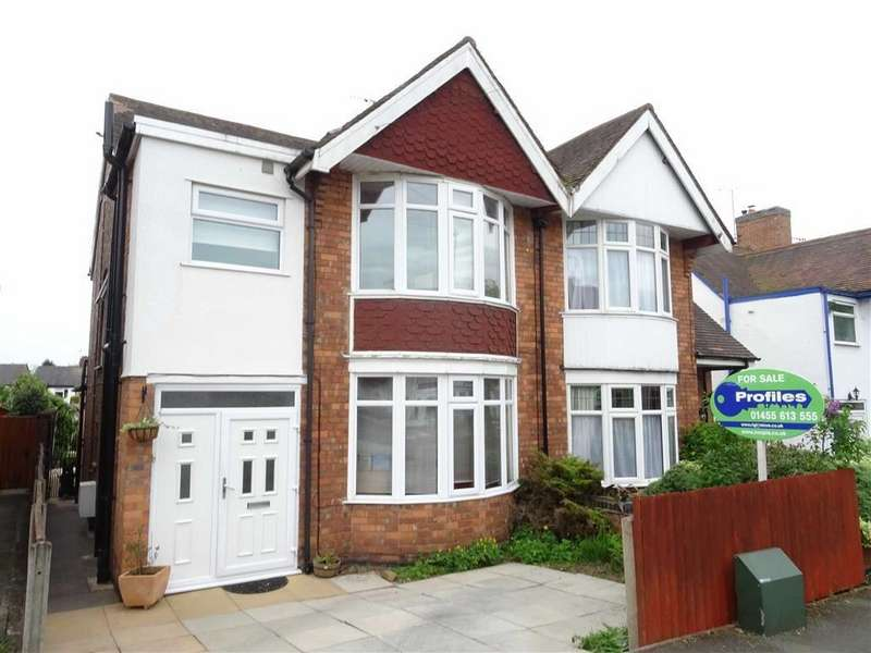 4 Bedrooms Semi Detached House for sale in Glebe Road, Hinckley