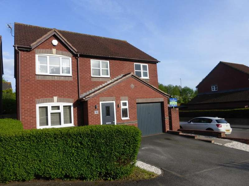 4 Bedrooms Detached House for sale in Meerbrook Way, Quedgeley, Gloucester, GL2