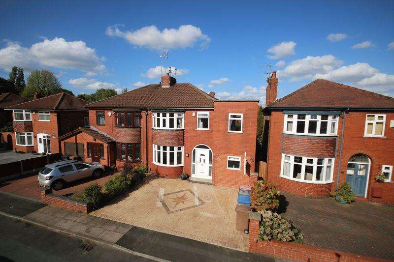 3 Bedrooms Semi Detached House for sale in Southlands Avenue, Peel Green M30