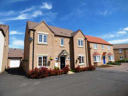 4 Bedrooms Detached House for sale in Magnus Close, Cardea, Peterborough, Cambridgeshire