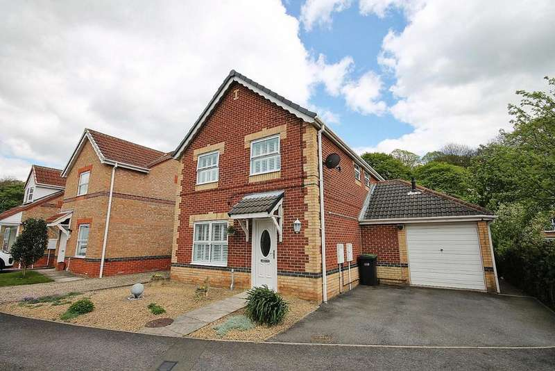 4 Bedrooms Detached House for sale in Milburn Way, Howden Le Wear, Crook