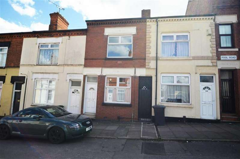 2 Bedrooms Terraced House for sale in Pool Road, Leicester