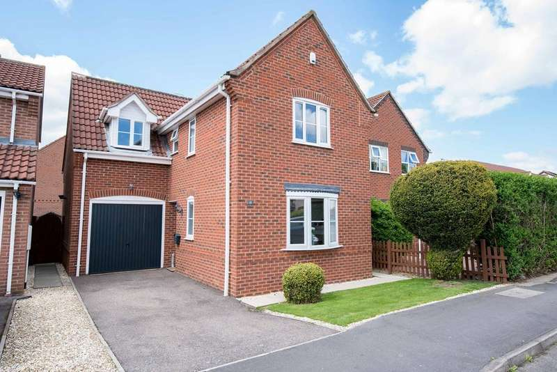 3 Bedrooms Detached House for sale in Horseshoe Road, Spalding, PE11