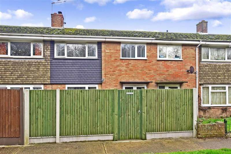 3 Bedrooms Terraced House for sale in Elm Road, Aylesham, Canterbury, Kent