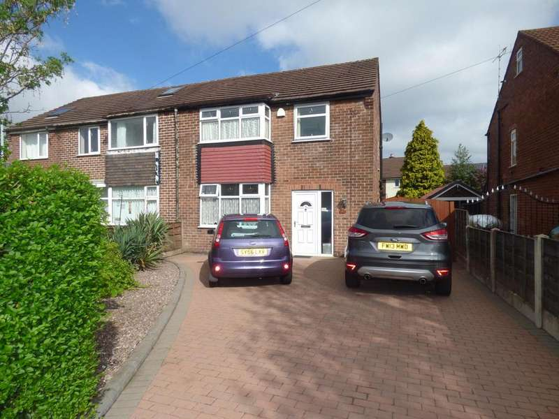 3 Bedrooms Semi Detached House for sale in Hillcrest Road, Offerton, Stockport, SK2