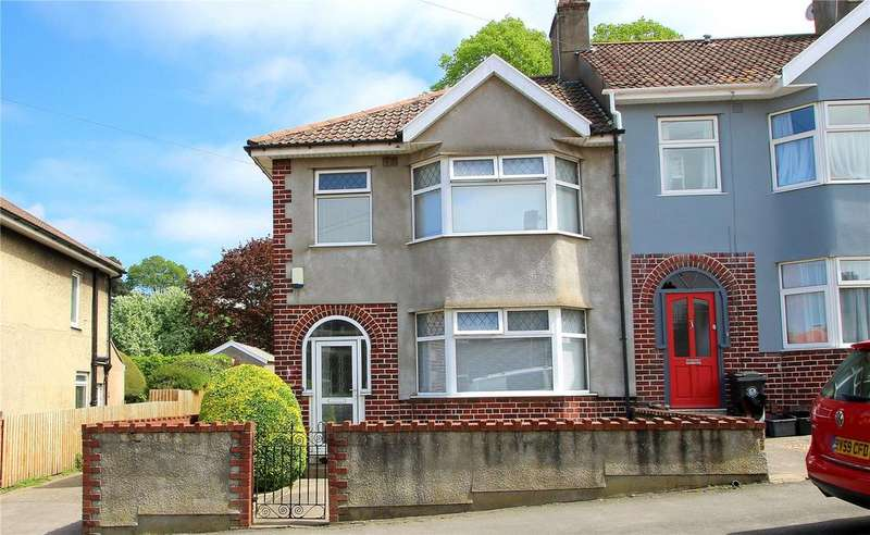 3 Bedrooms End Of Terrace House for sale in Ravenhill Road, Knowle, Bristol, BS3