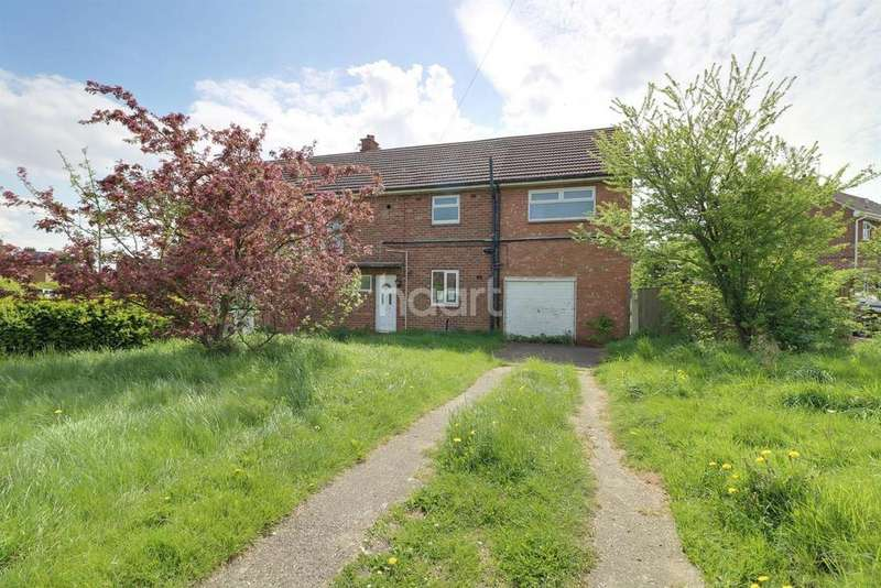 3 Bedrooms Semi Detached House for sale in Gibraltar Road, Hemswell Cliff