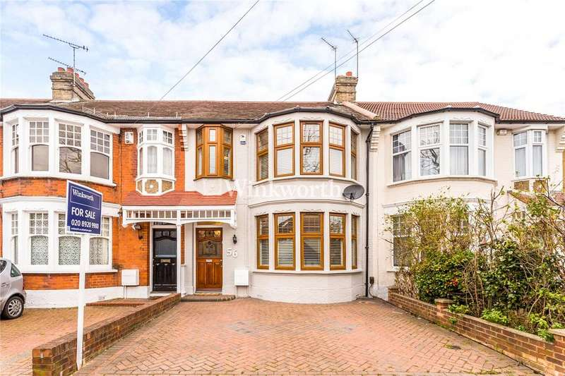 3 Bedrooms Terraced House for sale in River Avenue, London, N13