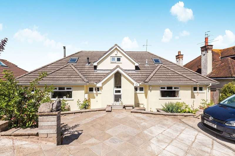4 Bedrooms Detached Bungalow for sale in Nore Road, Portishead, Bristol, BS20