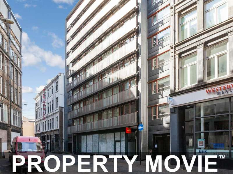 1 Bedroom Apartment Flat for sale in 5/3, 45 Mitchell Street, City Centre, Glasgow, G1 3LA